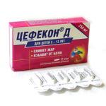Как хранить препарат Цефекон Д правильно