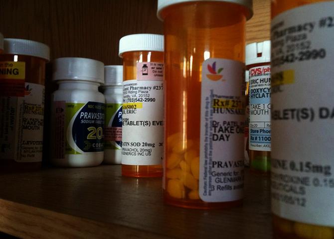Хранение антибиотиков