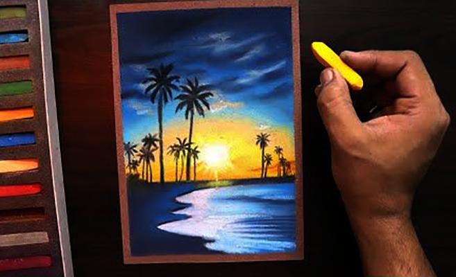Пастельный рисунок