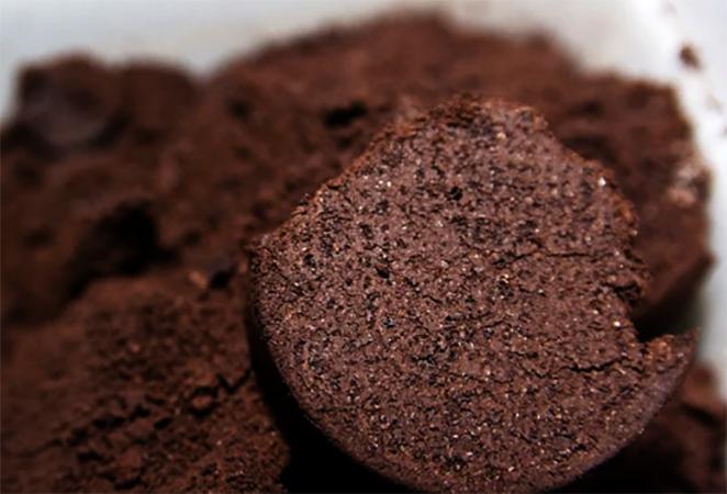 Сушеный кофейный жмых