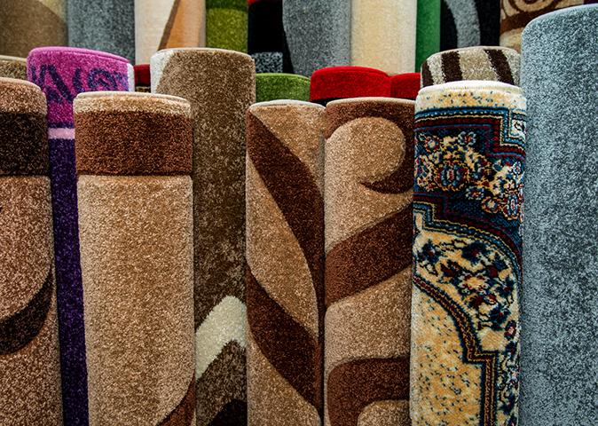 Хранение ковров вертикально
