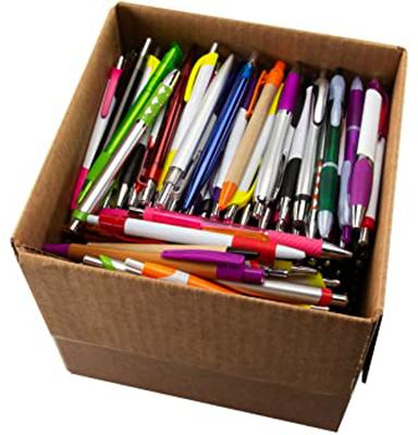 Ручки в коробке