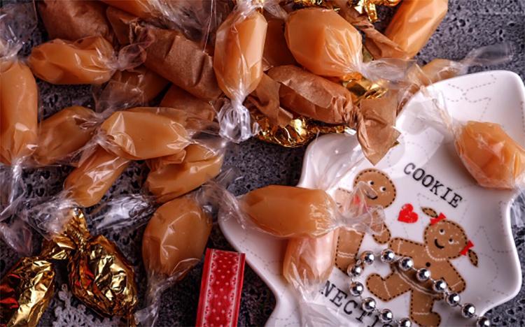 Обернутые конфеты с соленой карамелью