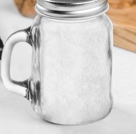 Хранение соли в стеклянной банке