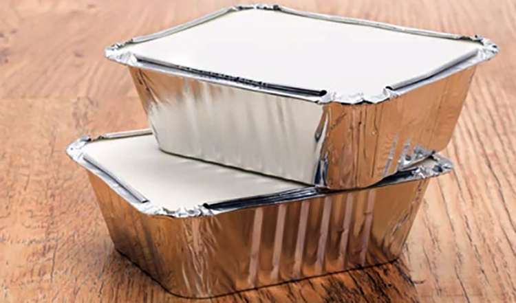 Горячие закуски в упаковке из фольги