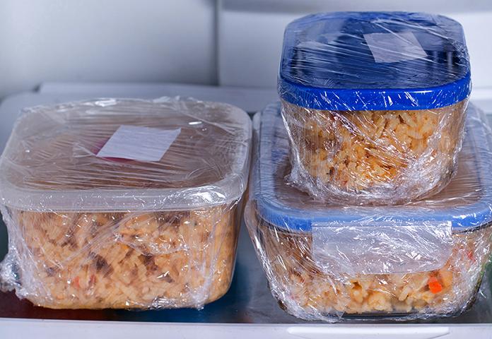 Плов в холодильнике
