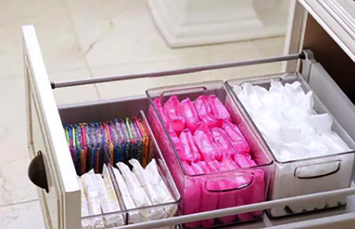 Прокладки в шкафу
