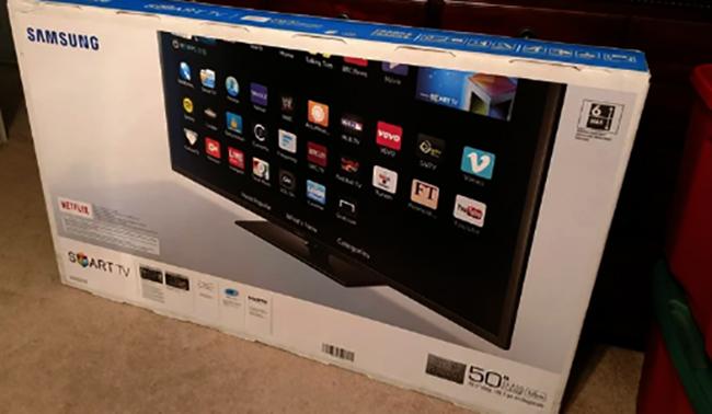 Телевизор в коробке