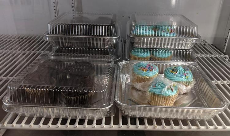 Капкейки в холодильнике