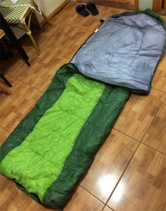 Спальный мешок дома
