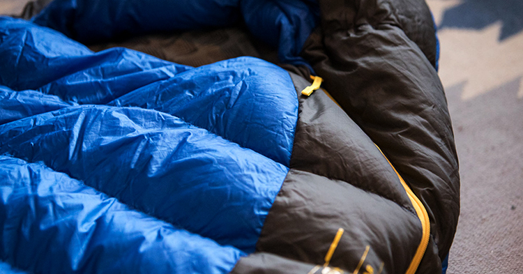 Спальные мешок после путешествия