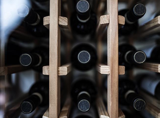 Хранение бутылок с портвейном