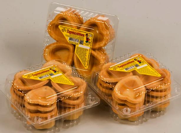 Упакованные тарталетки