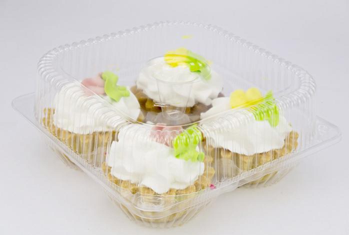 Пирожные «Корзиночки» в упаковке