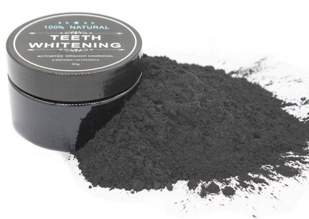 Активированный уголь в форме порошка
