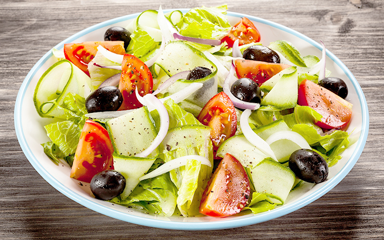Свежий греческий салат