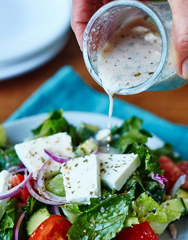 Заправка греческого салата