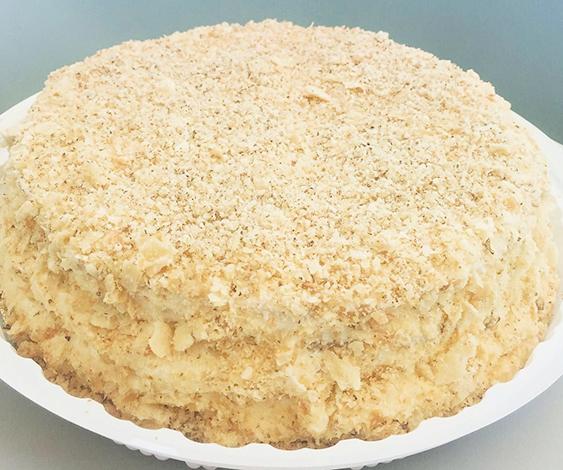 Свежий торт Наполеон