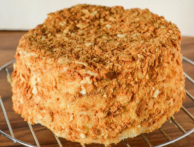 Торт Наполеон дома